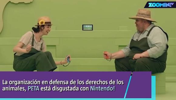Peta reclama a Nintendo por videojuego y le pide mayor realismo