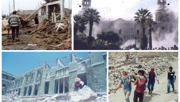 Así quedó Arequipa con el terremoto del 2001