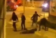 Joven fue brutalmente golpeado por un grupo de sujetos