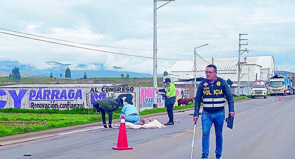 Tecnólogo médico va a celebrar su día y vehículos lo matan en la Carretera Central