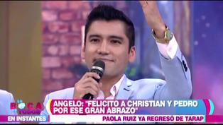 """""""Estoy dispuesto a disculpar"""": Angelo Fukuy quiere que Christian Domínguez le pida disculpas"""