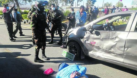 Los efectivos policiales hicieron la intervención. (Foto: Cortesía)