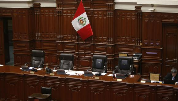 Pleno del Congreso sesionará este 5 de agosto de forma presencial. (Foto: GEC)