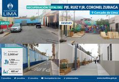 Recuperan espacios públicos de Barrios Altos que antes eran inseguros