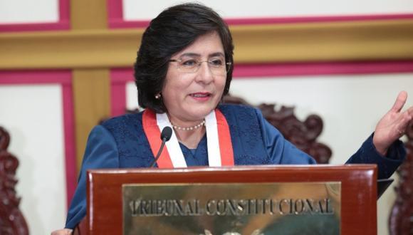 Marianella Ledesma criticó que se haya llevado a cabo la juramentación de los nuevos miembros de la Junta Nacional de Justicia. (Foto: Correo)