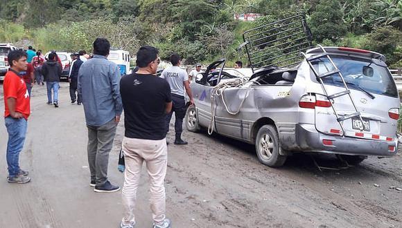 Al menos dos fallecidos tras accidente en vía alterna a Machu Picchu (FOTOS)