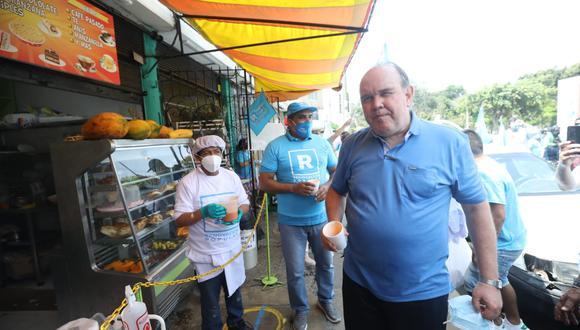 Candidato presidencial Rafael López-Aliaga afronta proceso sancionador por parte del JEE de Lima Centro 1. (Foto: Britanie Arroyo / @photo.gec)