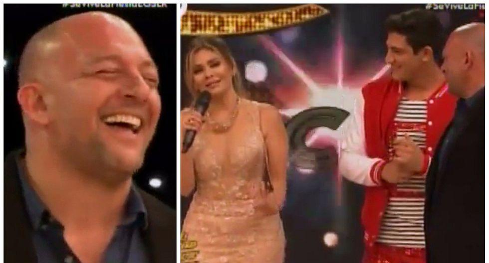 Gisela coqueteó con padre de concursante de 'El Gran Show' y pasó tremenda vergüenza