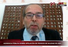 Abogados de Perú Libre indicaron que Fuerza Popular no presentó pruebas sólidas para anular votos por presunto fraude