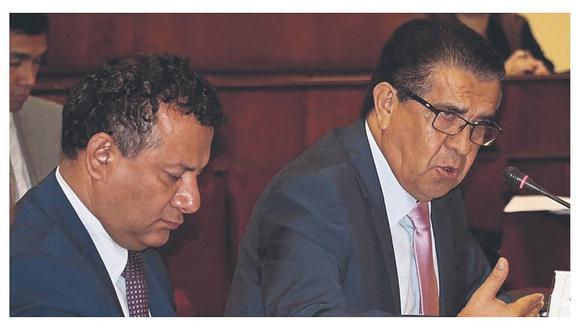 Llempén respalda a vicegobernador