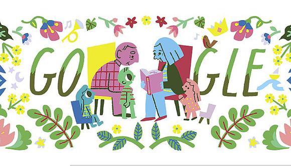 Google celebra el Día del Abuelo