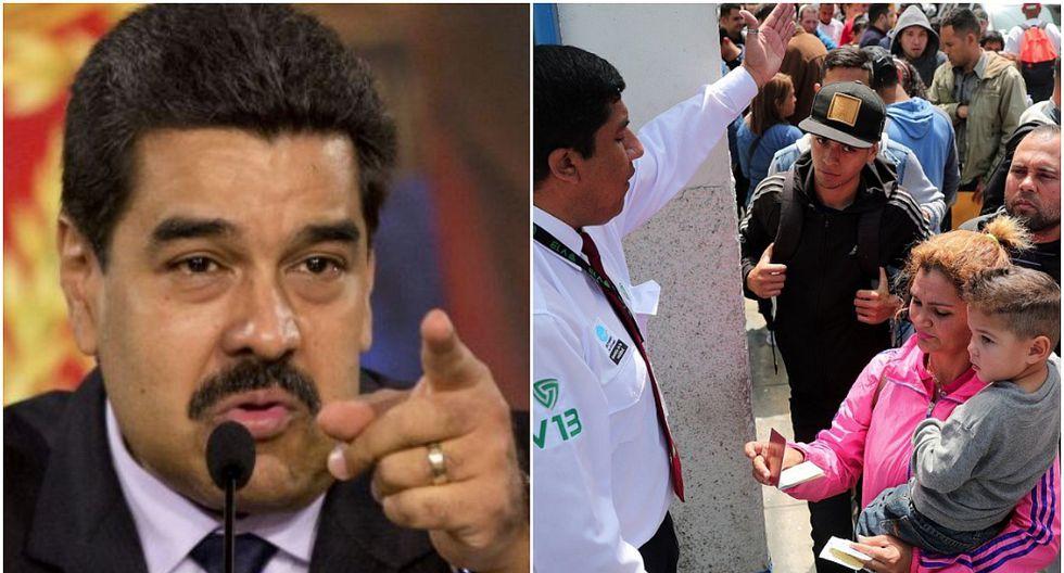 """Gobierno de Maduro pedirá indemnización a países por """"maltrato"""" a venezolanos (VIDEOS)"""