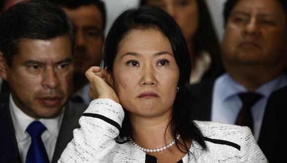 Luis Galarreta manifestó que, de llegar Keiko Fujimori a la Presidencia, harían acuerdos políticos. (Foto: GEC)