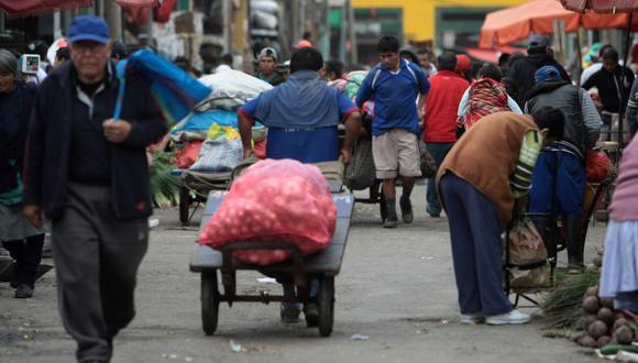 Precios de alimentos en mercado La Parada se elevan por alta demanda