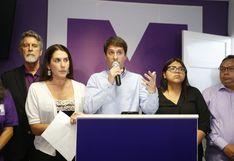 Secretario general del partido Morado consignó ingresos en el 2018, pero no origen de fondos