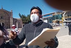 Dirigentes exigen destitución de funcionarios del Gobierno Regional de Puno