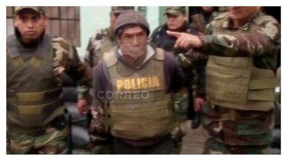 Cae terrorista incluido en lista de los más buscados en Huancavelica