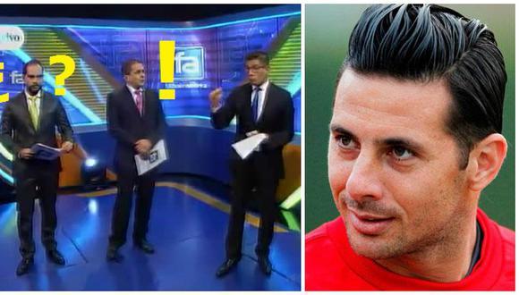 Erick Osores dijo que Pizarro es convocable y Gonzalo Núñez reaccionó así (VIDEOS)