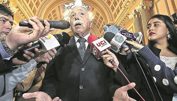 Carlos Tubino considera preocupante denuncia entre procuradores (VIDEO)
