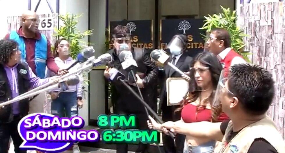 """Jorge Benavides prepara sketch sobre """"Richi Swing"""" (VIDEO)"""