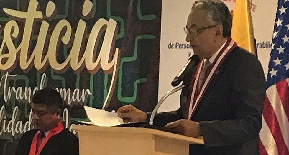 José Luis Lecaros descarta enfrentamiento con el Tribunal Constitucional