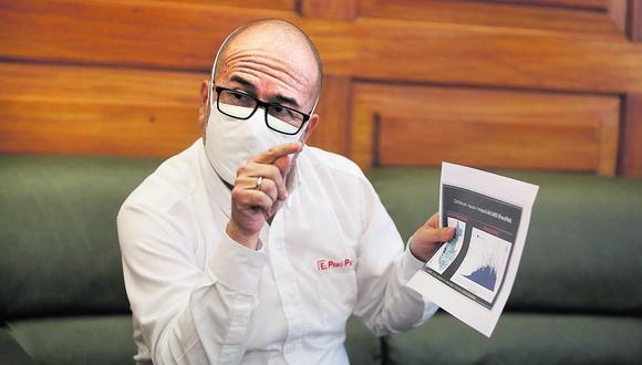 ENTREVISTA AL MINISTRO DE SALUD, VICTOR ZAMORA.
