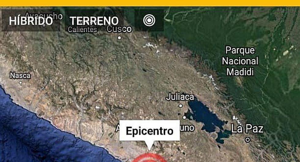 Fuerte sismo de 5.2 grados asusta a arequipeños y moqueguanos