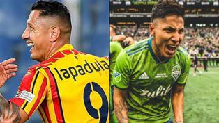 Selección peruana: Así les fue a Ruidíaz y Lapadula en sus respectivas ligas