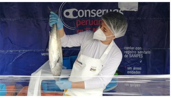 Se ofertará pescado fresco y conservas a precios accesibles para las amas de casa de la provincia de Trujillo.