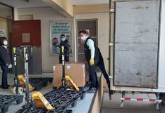Arequipa recibió 52 mil 650 dosis de los laboratorios  Sinopharm  y Pfizer