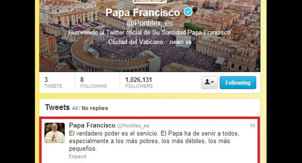 Papa Francisco escribió mensaje tras asumir pontificado