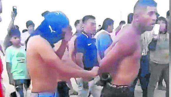 Dos venezolanos salvan de ser linchados por vecinos de Parachique