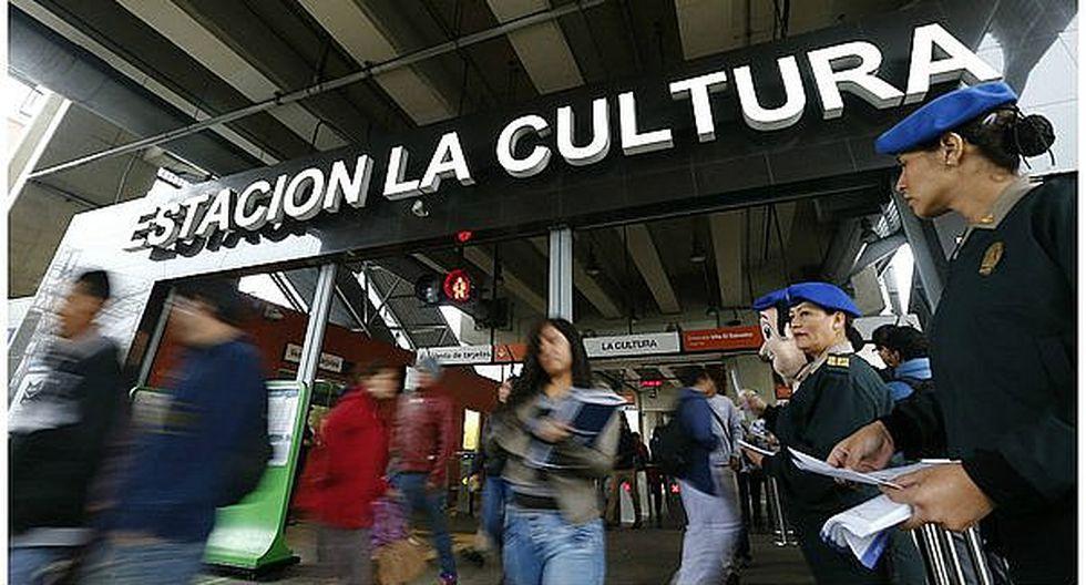 APEC: Estación La Cultura fue cerrada desde hoy