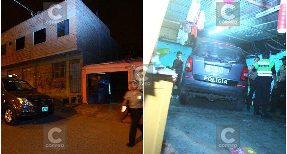 Patrullero se empotra en vivienda de San Juan de Lurigancho (FOTOS Y VIDEO)