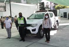 Instalan  señal GPS en patrulleros de Arequipa