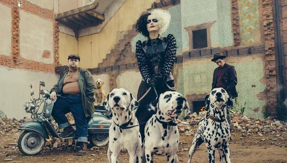 """Emma Stone dará vida a la villa Cruella Vil en """"Cruella"""", la nueva película de Disney basada en """"101 dálmatas"""". (Foto: Disney)"""