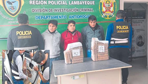 """""""Los Duros de Huamachuco"""" viajaban a bordo de una camioneta, desde la región La Libertad con dirección a Chiclayo."""
