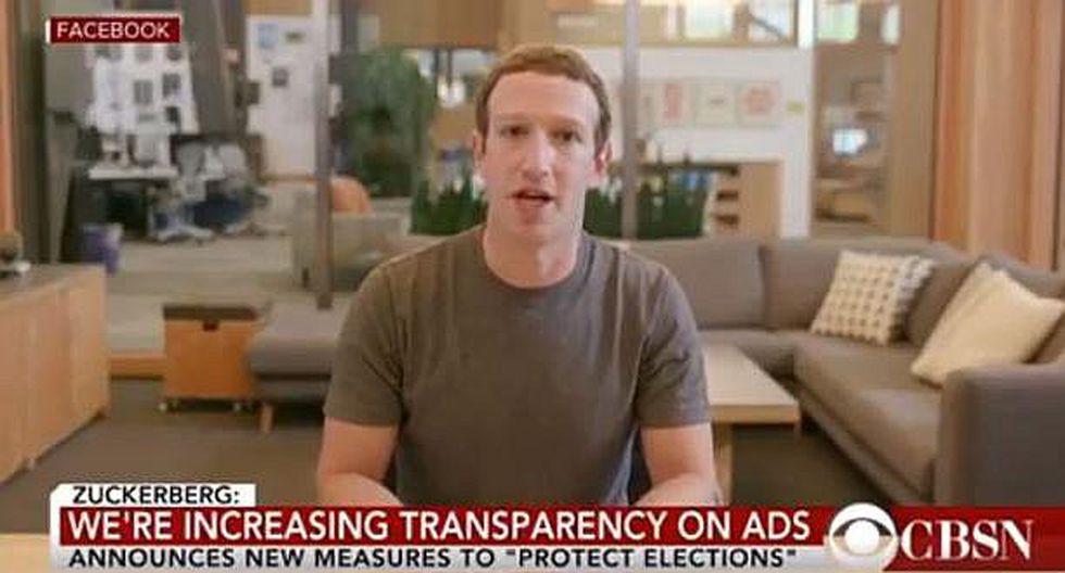 Instagram no eliminará video falso de Mark Zuckerberg (VIDEO)