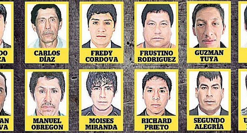 """61 acusados de violación en lista de """"los más buscados"""""""