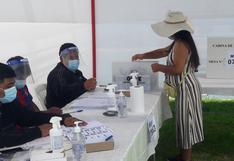Un total de 62,829 personas no acudieron a votar en Tacna