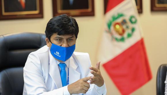 El presidente ejecutivo de EsSalud, Mario Carhuapoma, tiene una investigación abierta en Ayacucho por negociación incompatible. (GEC)