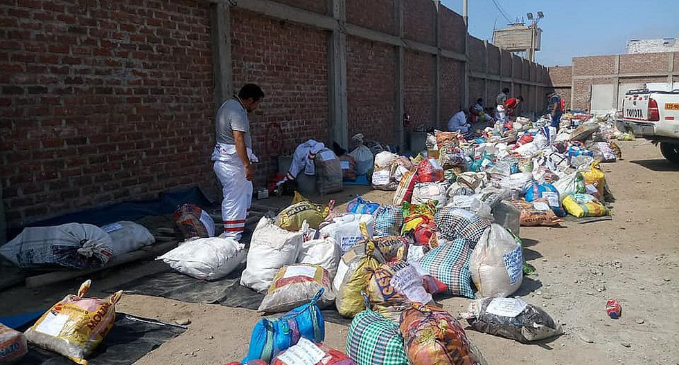 Traen encomiendas con alimentos para residentes de Julcán y Santiago de Chuco en Trujillo (FOTOS)