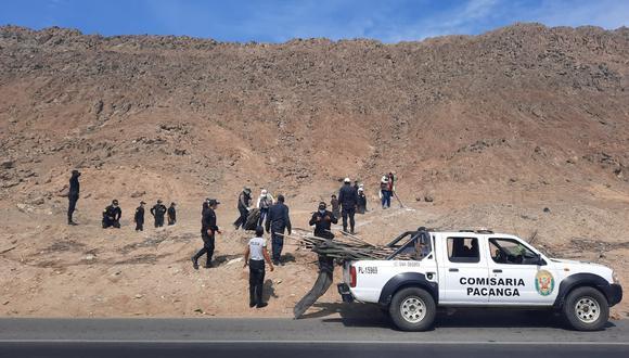 Unas 70 personas habían hecho zanjas y estaban colocando palos y alambres en complejo Farfán, situado en Pacasmayo.