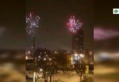 ¿Por qué se oyeron fuegos artificiales en pleno toque de queda en varios distritos de Lima y Callao? (VIDEO)