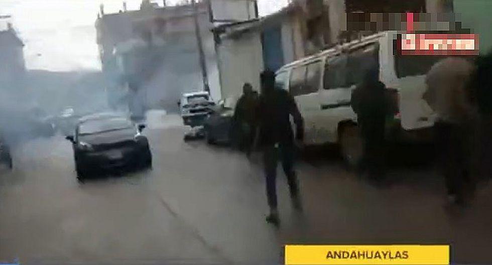 Andahuaylas: 14 policías heridos tras ataque de vecinos indignados por el asesinato de dos niñas