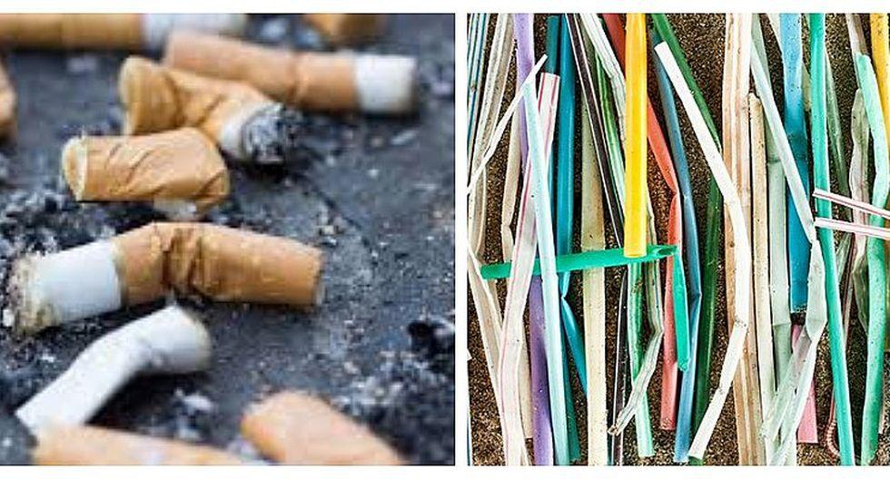 Las colillas de cigarros causan más daño al medio ambiente que los sorbetes