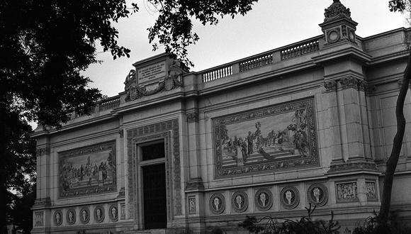 Museo de Arte Italiano. 17 de junio de 1961 (Foto: GEC Archivo Histórico)