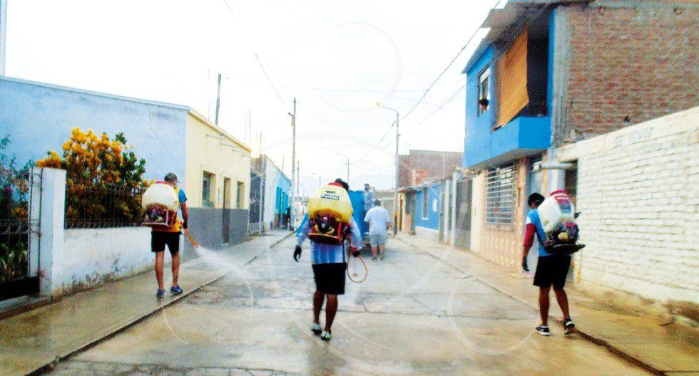 La Libertad: La falta de apoyo de sus autoridades motivó a estos jóvenes a ayudar a su comunidad para luchar contra el COVID-19