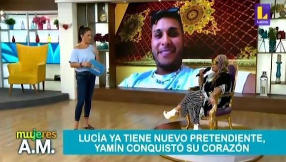Lucía de la Cruz revela que tiene una relación a distancia con joven 43 años menor que ella. (Foto: Captura de  video Latina)