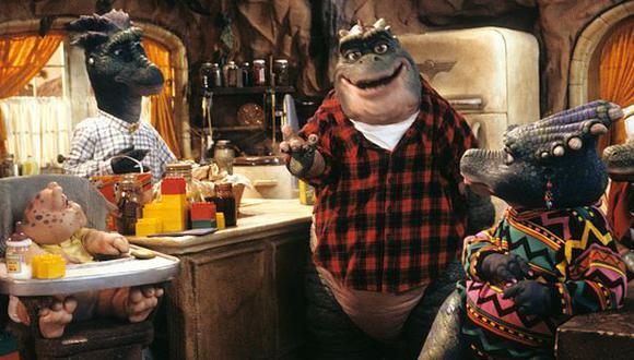 'Dinosaurios' llega a la plataforma de streaming Disney +.